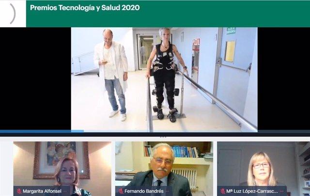 La Fundación Tecnología y Salud y Fenin premia a los profesionales sanitarios por su labor contra el Covid-19