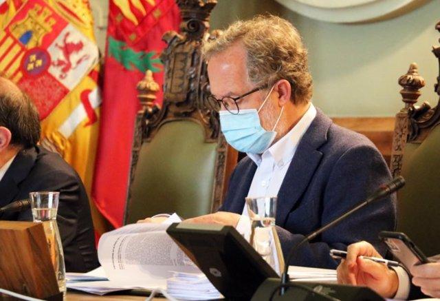 El concejal de Planeamiento Urbanístico y Vivienda, Manuel Saravia.