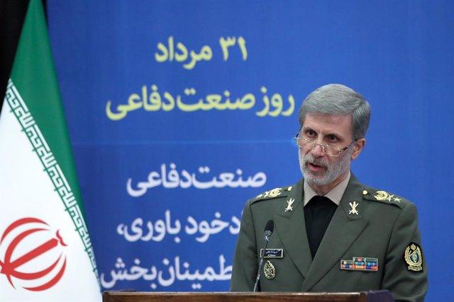 El ministro de Defensa de Irán, Amir Hatami