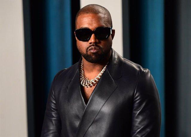 Kanye West en la fiesta Vanity Fair