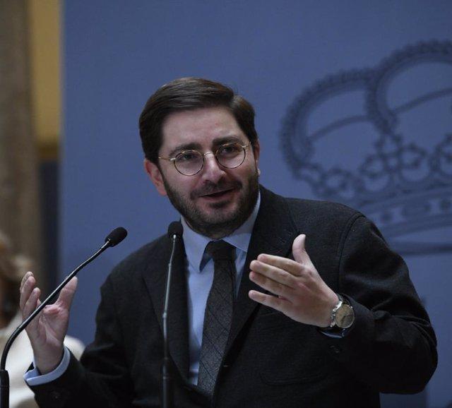 El secretario de Estado de España Global, Manuel Muñiz