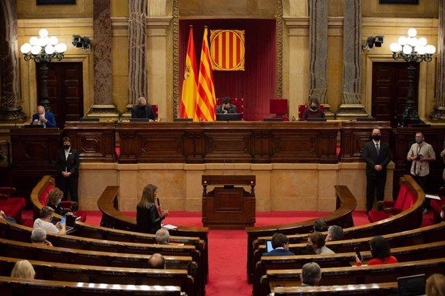Pleno del Parlament del 4 de noviembre de 2020