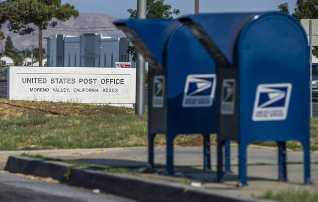 Imagen de archivo de la oficina del Servicio Postal estadounidense.
