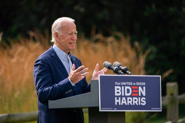 El candidato demócrata a la Casa Blanca, Joe Biden.