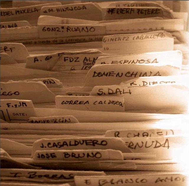 Imagen de un archivador