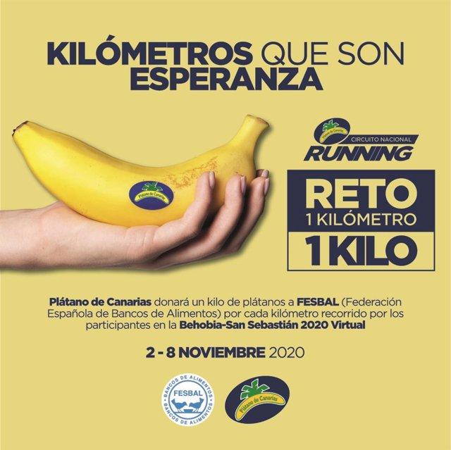 El Circuito Nacional de Running Plátano de Canarias sigue sumando kilómetros solidarios