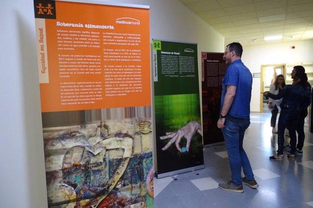 Exposición de Medicus Mundi en la EASP
