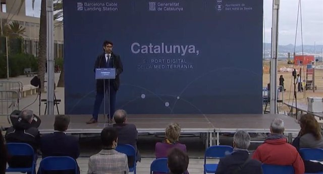 El conseller Jordi Puigneró