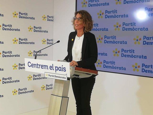 La candidata del PDeCAT a les eleccions, Àngels Chacón