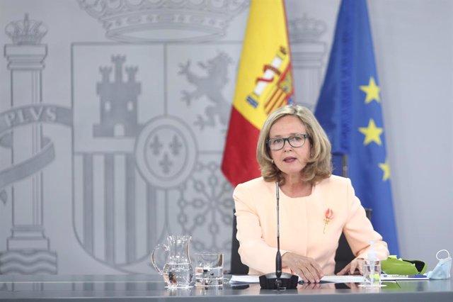 La vicepresidenta i ministra d'Afers Econòmics i per a la Digitalització, Nadia Calviño.
