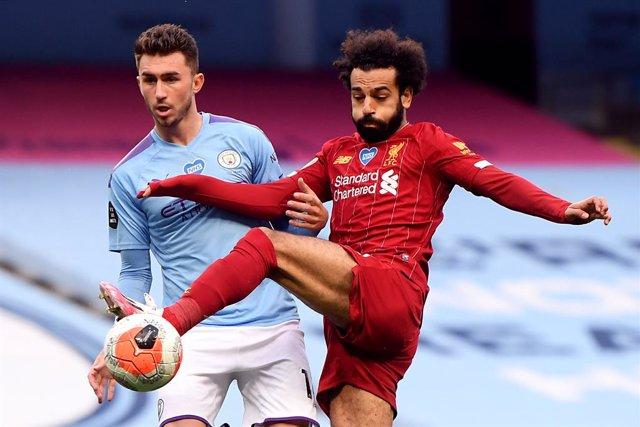 Laporte (Manchester City) y Salah (Liverpool)
