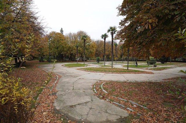 Espacio en el que se instalará la nueva pista de skate en Las Moreras.