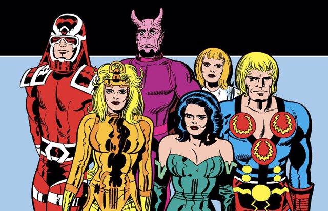 ¿Filtrada La Primera Imagen De Los Eternos De Marvel Al Completo?