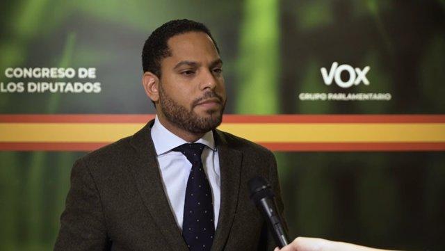 El diputat de Vox al Congrés per Barcelona, Ignacio Garriga.
