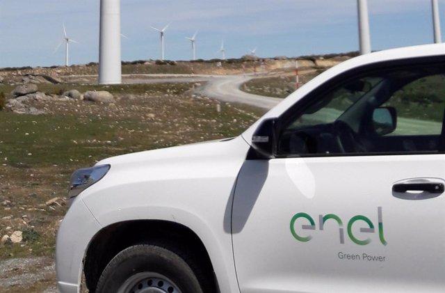 Coche de Enel Green Power en Ávila