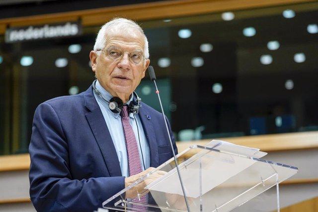 El Alto Representante de la Unión Europea (UE) para Política Exterior y Seguridad Común, Josep Borrell