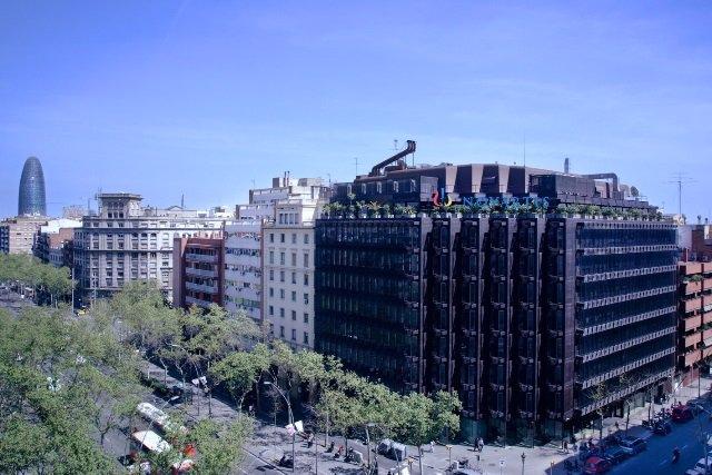 Sede de la farmacéutica Novartis en Barcelona