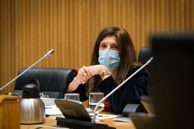 La secretaria de Estado de Cooperación Internacional, Ángeles Moreno Bau, comparece en el Congreso
