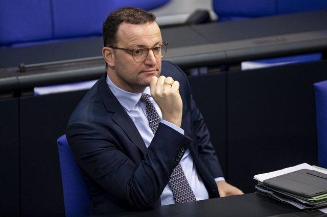 Jens Spahn, en el Parlamento alemán