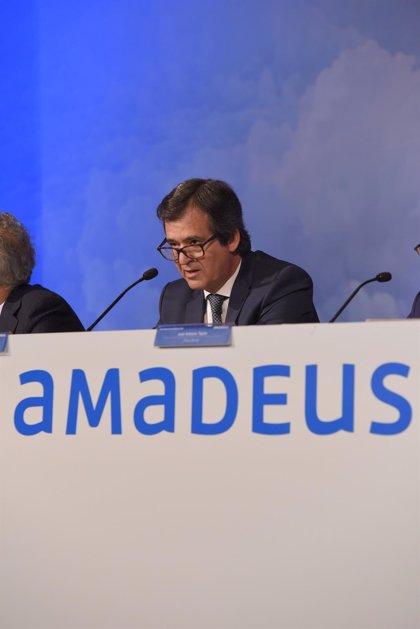 Amadeus pierde 356,4 millones hasta septiembre por el Covid-19 pero mejora resultados en el tercer trimestre