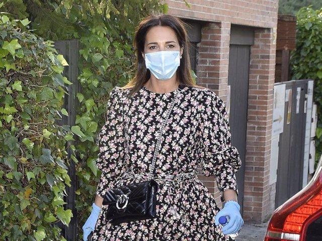 Paula Echevarría, en una imagen de archivo, está radiante en su segundo embarazo