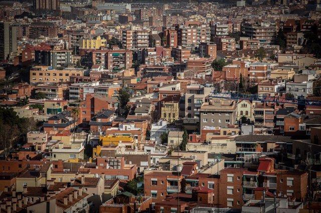 Panoràmica de la ciutat de Barcelona (Arxiu).