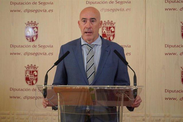 Óscar Moral, diputado de Hacienda.
