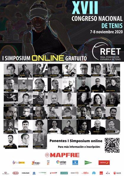 Más de 800 inscritos participan este fin de semana en el I Simposium Online-Congreso Nacional de Tenis