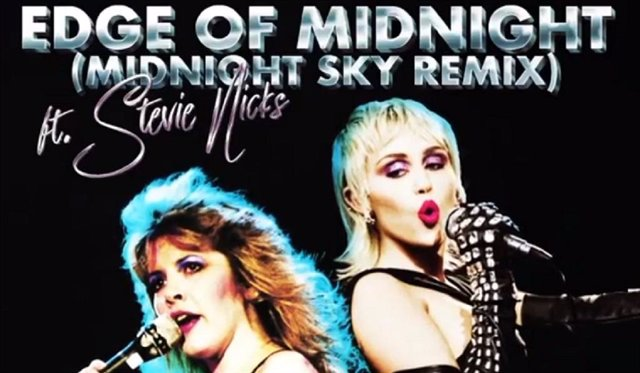 Miley Cyrus y Stevie Nicks lanzan un remix de Midnight Sky