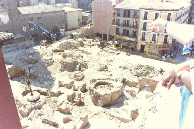 El Museo del Foro de Caesaraugusta, el primer centro arqueológico de la ciudad, cumple 25 años