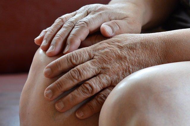 Rodilla, menisco, dolor, manos
