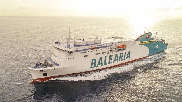 Buque de Balearia.