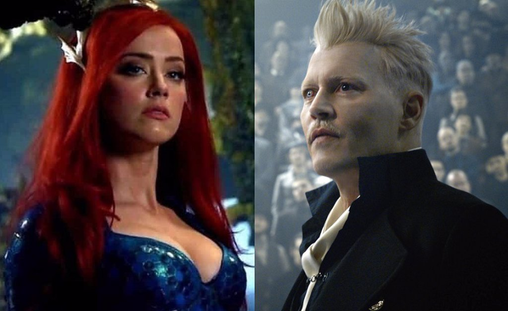 El despido de Johnny Depp de Animales Fantásticos 3 indigna a los fans que  exigen a Amber Heard fuera de Aquaman
