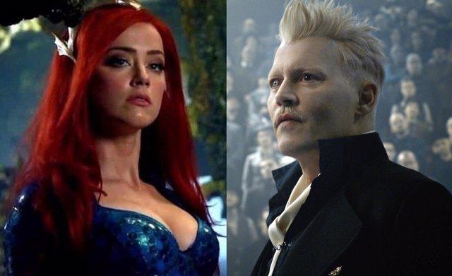 Los fans exigen que Warner despida también a Amber Heard de Aquaman tras apartar a Johnny Depp de Animales Fantásticos