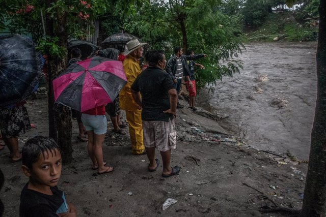 El paso del huracán 'Eta' por Honduras.