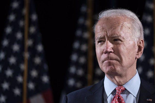 El candidato demócrata a la presidencia, Joe Biden