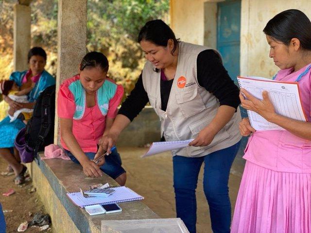 Programa contra la desnutrición infantil en Guatemala.