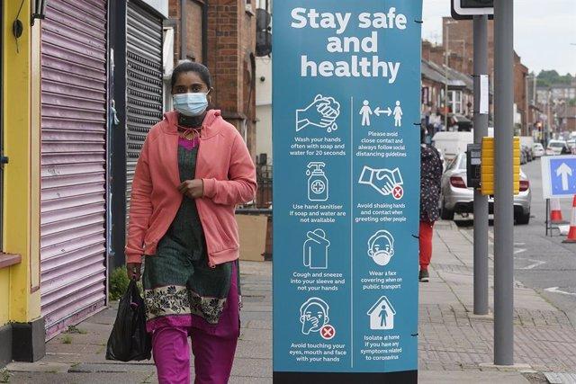 Recomendaciones frente al coronavirus en Leicester