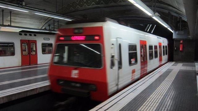 Ferrocarrils de la Generalitat de Catalunya (FGC). Estación de Plaça de Catalunya.