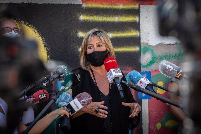 L'alcaldessa de l'Hospitalet de Llobregat, Núria Marín, el 14 de setembre del 2020