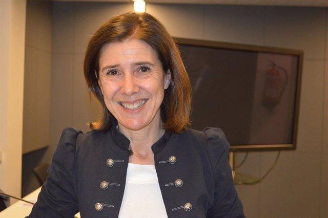 La secretària general de Convergents, Teresa Maria Pitarch.
