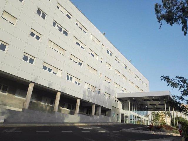 Entrada principal del Hospital de La Candelaria