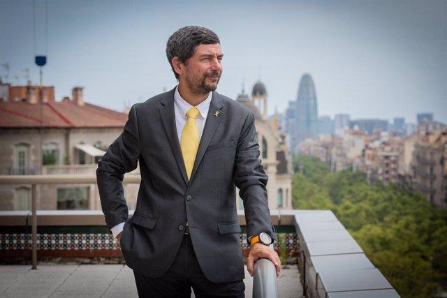 El president de la Cambra de Barcelona i del Consell General de Cambres de Catalunya, Joan Canadell