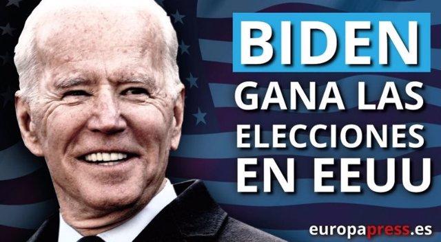 Joe Biden gana las elecciones en EEUU