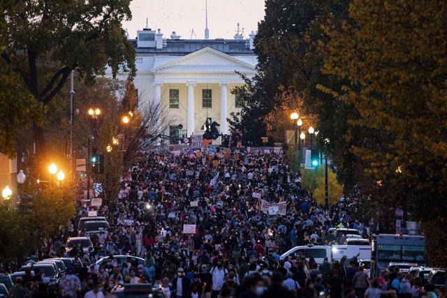 Celebraciones en EEUU por la victoria de Biden