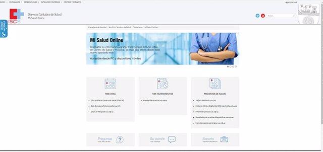 Sanidad lanza el espacio 'Mi salud online'