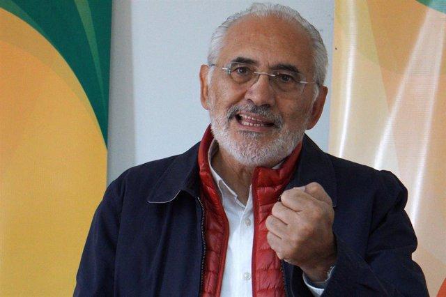 El expresidente boliviano Carlos Mesa