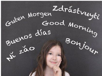 Hablando en más de un idioma, la educación plurilingüe