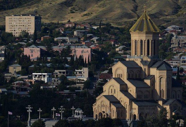 La ciudad de Tiblisi, capital de Georgia