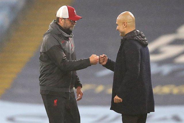 Jurgen Klopp y Pep Guardiola